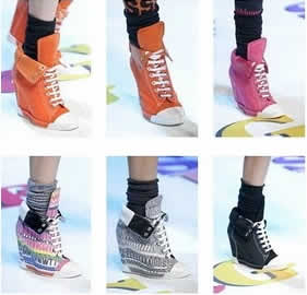 Las originales zapatillas invierno 2012