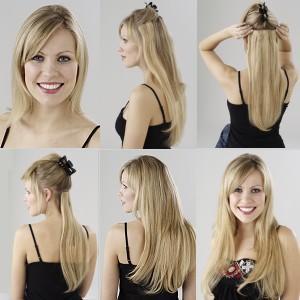 Extensiones de cabello para jovencitas