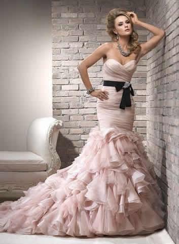 vestido de novia colores