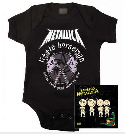 moda infantil heavy metal