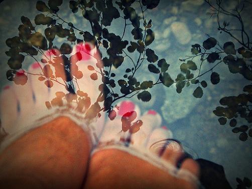 pies-en-verano